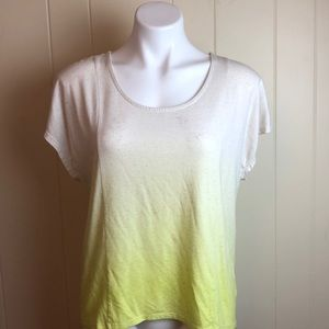 3/$27 Mossimo Ombre Wide Scoop Neck Tee Shirt